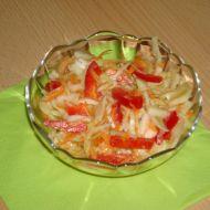 Salát z hlávkového zelí se zálivkou recept