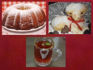 Bábovka, beránek a bylinkový čaj