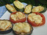 Lilek, cuketa, rajče zapékané se sýrem recept