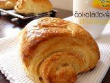 Máslový croissant s čokoládou recept