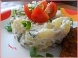 Bramborový salát s česnekem recept