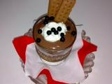 Borůvkovo-čokoládový pudink recept