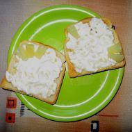 Ananasová pomazánka s česnekem recept