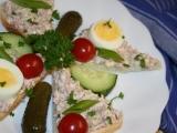Salámová pomazánka s vajíčkem recept
