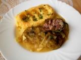 Šťavnaté kapustové listy plněné uzeným a sýrem recept ...