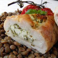 Kuřecí rolky plněné sýrovou směsí recept