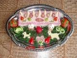 Slaný dort  pro Klárku recept