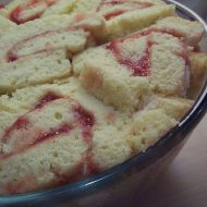 Vykrajovaný dort s tvarohem recept