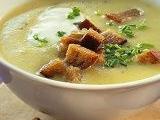 Bramborová polévka s kyselým mlékem recept