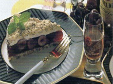 Dort z celozrnného chleba s třešněmi