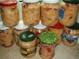 ČALAMÁDA  zelí, mrkev, papriky recept