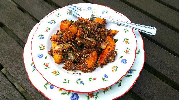 S Klárou v kuchyni #13: Červená quinoa s pečenou podzimní ...
