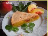 Broskvový koláč se sněhovou čapkou recept