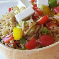 Paprikový rýžový salát recept