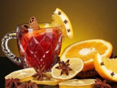 Punč z grapefruitů a pomerančů