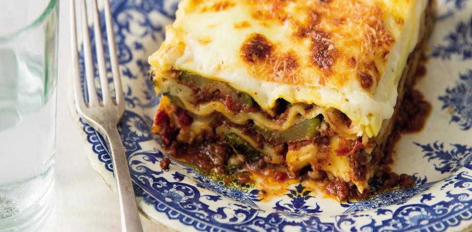 Lasagne s cuketou