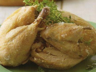 Kuře v solné krustě