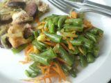 Fazolky s mrkví na česneku recept