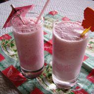 Malinový zmrzlinový shake recept