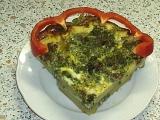 Špenátový dortík recept