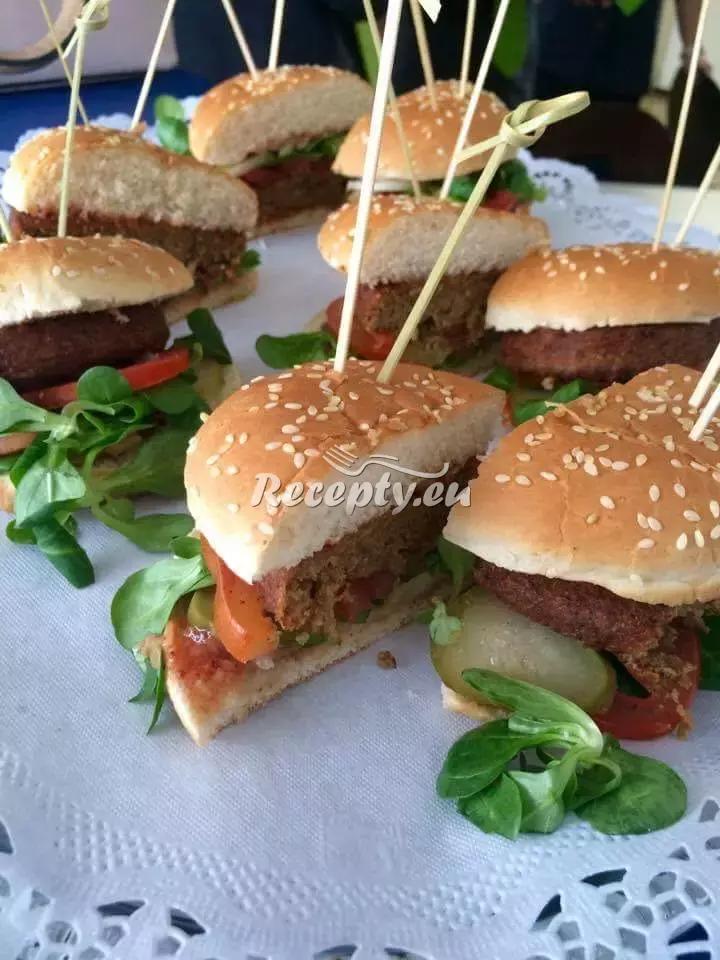 Hamburger podle Pohlreicha recept  mleté maso