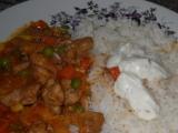 Rýže s tatarkou a kuřecí směsí recept
