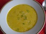 Zeleninová polévka se sýrem a smetanou recept