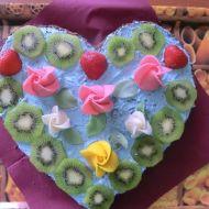 Ovocný dort k narozeninám recept