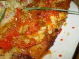 Panganus na pórku s rajčaty recept