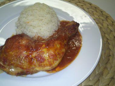Babiččino kuře po indicku