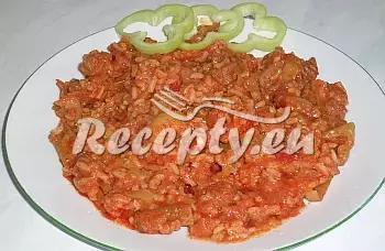 Džuveč recept  vepřové maso