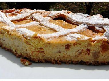 Pastiera Napoletana  italský koláč s ricottou, rýží a kandovaným ...
