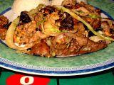 Čínská kuchyně: Maso dvou barev recept