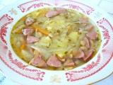 Sójová polévka se zeleninou recept