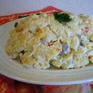 Lehký vánoční bramborový salát recept