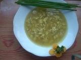 Vločková polévka,studentská recept