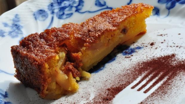 Toskánský jablečný koláč
