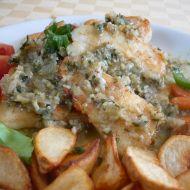 Rybí filety se sardelovým přelivem recept
