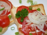 Rajčatové chlebíčky recept