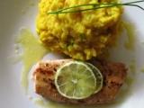 Losos na citrónovém pepři s bramborovo-celerovou kaší recept ...