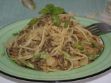 Špagety se zelím recept