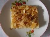 Jablkový koláč s mandlovými kousky recept