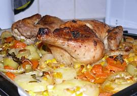 Kuře na zelenině z proženy.cz recept