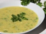 Žloutková polévka s parmazánem recept