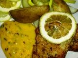 Nilský okoun na tymiánu s citronovou omáčkou recept