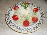 Mascarpone špagety s brokolicí recept