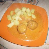 Masové kuličky s paprikovou omáčkou recept