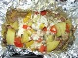 Směs pečená v alobalu recept