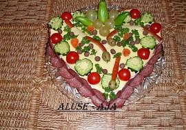 Slaný dort  hadí doupě recept