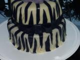 Zebra dort  inspirace recept
